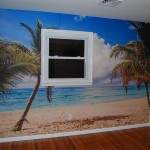 IDWraps.com Wall Mural Art Custom Beach Tropical PA