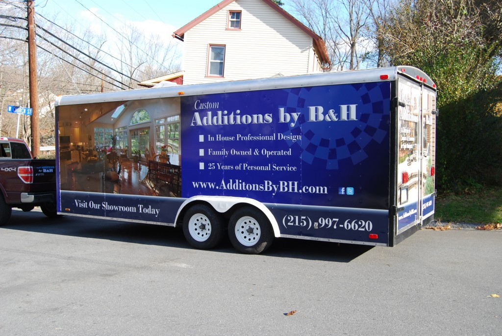 Custom Additions by B&H Trailer Wrap After Photo