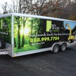 J Wise & Co. Demolition Services Trailer Wrap