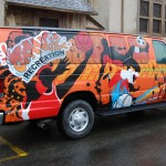 City of Orange Recreation Ford E350 Van Wrap Pic