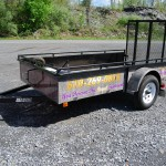 King HVAC Landscape Trailer Wrap