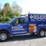 Volpe Enterprises Knapheide Service Vehicle Utility Truck Wrap 3M Philadelphia