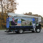 Hogue Realtor Cube Van 3M Truck Bucket Wrap Advertising PA