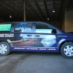 AMAC Advanced Mobile Asset Collection Dodge Caravan Minivan Wrap Hazelton PA