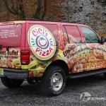 Cici's Pizza Car Wrap Ford Expedition Whitehall 3M SUV Graphics Lehigh Valley Vehicle