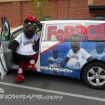IronPigs Sienna FeFe Ferrous Toyota Sienna Wrap Graphics Athletic 3M Bethlehem Easton