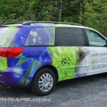 Paisley Peacock Flower Shop Mini Van Toyota Sienna Wrap Graphics 3M Allentown PA Bethlehem Easton