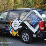 Acheivement House Kia Sedona Minivan Vehicle Wrap Exton PA Car Advertising