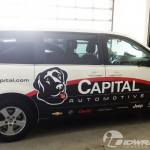 Capital Automotive Dodge Grand Caravan Wrap