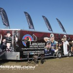 Lancaster Archery 32ft Concession Trailer Wrap