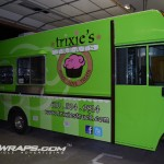 Trixies Treats 18ft Grummin Concession Step Van Food Truck 3M Wrap Allentown