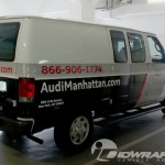 Open Road Audi Manhattan Parts Van 3M Vinyl Wrap IDWraps