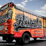 Rivals Short School Bus 3M Vinyl Wrap IdWraps