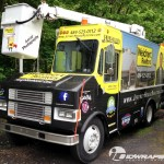Jeff Hogue Realtor Bucket Truck 3M Vinyl Wrap Idwraps