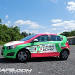 O'Donnell Chevy Sonic 3M Vinyl Wrap Vehicle