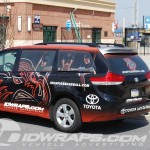 Lehigh Valley Ironpigs Toyota Sienna 3M Vinyl Wrap Advertising