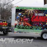 GameStar F250 and Trailer 3M Vinyl Truck Wrap Stroudsburg IDWraps