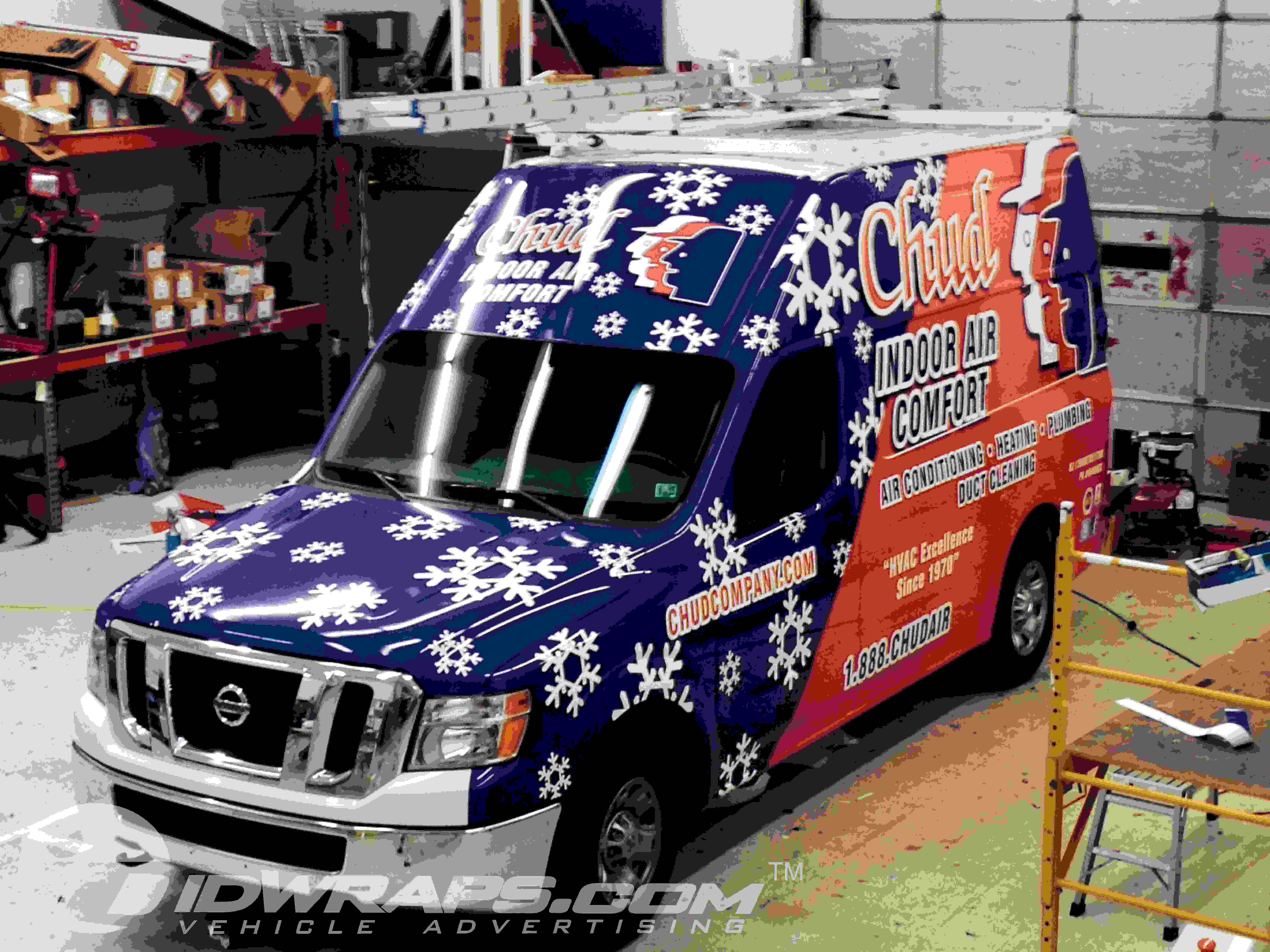 Chud HVAC Nissan NV 2500 Hi Top Wrap