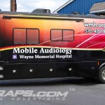 Wayne Memorial Hospital Hearing Tiffan Allegro 34GTA RV 3M Vinyl Wrap