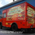 Grumpys BBQ Short Step Concession Van