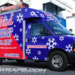 Chud Indoor Air Comfort HVAC Boxtruck Van 3M Vinyl Vehicle Wrap