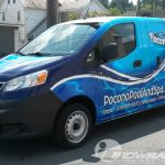 Pocono Pool and Spa Nissan NV200 Vehicle Wrap Stroudsburg Pa 3M Vinyl Vehicle Wrap
