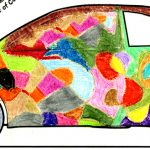 Fiat Coloring Contest Winning Drawing