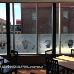 Bell Hall 3M Fasara Frosted Glass Window Treatment Graphics