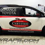 Performance Toyota Sienna  Car Dealer Full 3M Vinyl Graphic Wrap