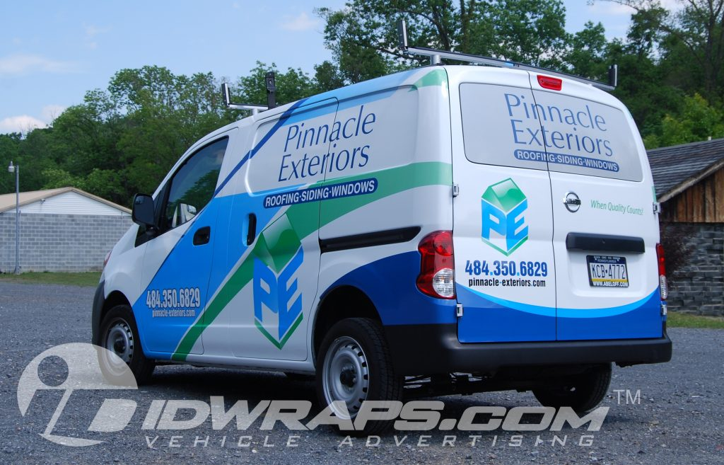 3M vinyl contractor wrap graphics