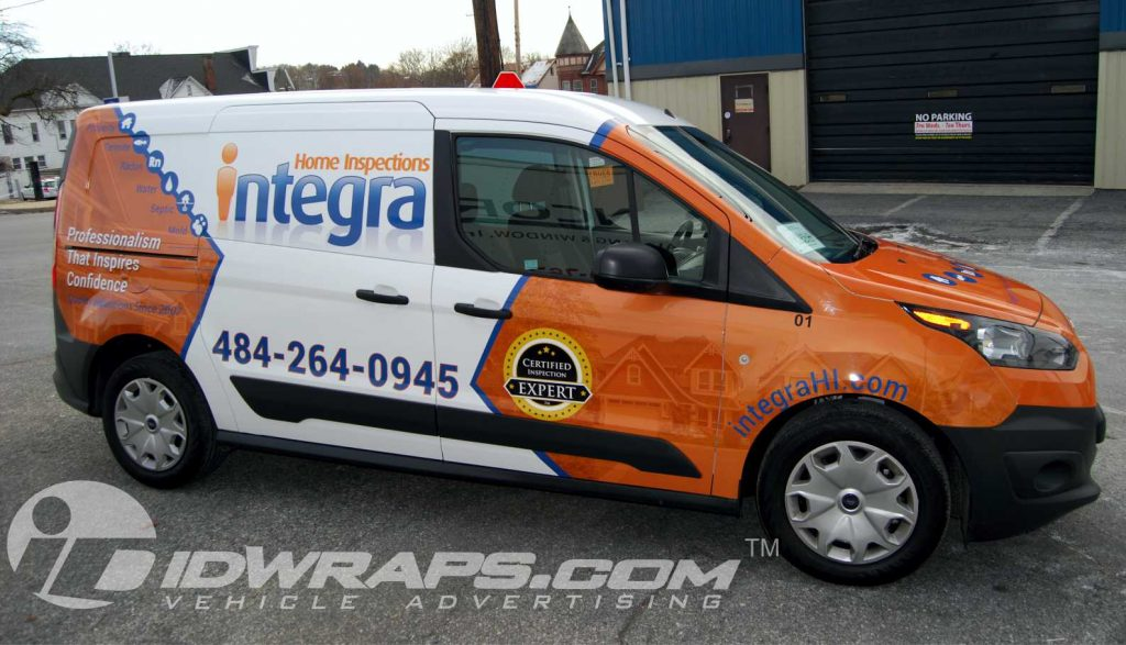 Features 3M Transit Connect Vinyl Wrapping for Integra