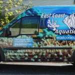 East Coast Aquatics Vehicle Advertisement