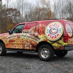 Cici's Pizza IDWraps.com 3M Ford Expedition SUV Wrap Advertising Whitehall PA