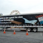 Rock Band 3M Tractor Trailer Wrap Advertising Graphics Allentown MTV