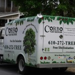 Arborist Truck Van Wrap Advertising Vehicle Philly
