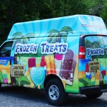 Ice Cream Van Truck Wrap Advertising 3M Wilmington IDWraps.com