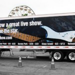 Cedar Fair Rockband Trailer Wrap