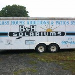 B&H Additions Trailer Wrap Before Pictures