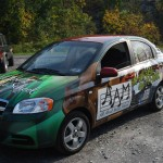 All About Music Chevy Aveo Wrap