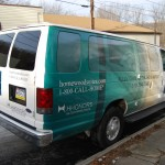 Hilton Homewood E350 Van Wrap Advertising