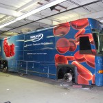 Immucor Bus Wrap