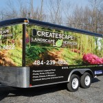 Createscape Landscaping Services 16ft Trailer Pic