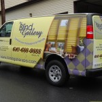 Blind Gallery Chevy Express Cargo Van Wrap