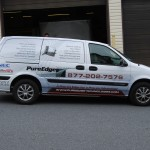 Pure Edge Communications Chevy Venture Minivan Wrap 3M Advertising  Poconos  Wilkes Barre