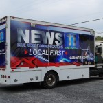 Blue Ridge Communications News 11 TV Production Utility Truck Wrap Palmerton Allentown Bethlehem