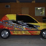 A&S Installation Ford Fiesta Car  Wrap Allentown Bethlehem Easton Lehigh Valley