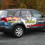 Tom Ring Kia Sedona 3M SUV Minivan Car Dealer Wrap Easton