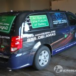 AMAC Global Dodge Dodge Caravan Hazelton PA Mini Van Wrap