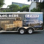 E-Z Rest Trailer Wrap Tannersville Pocono Advertising Stroudsburg Wilkes Barre