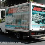 Audio Sensatiosn Cube Van Wrap 3M Exton Pottstown Wrap Advertising Truck Car Isuzu NPR